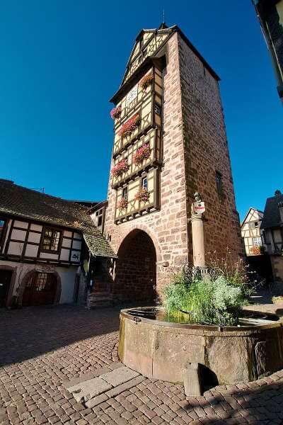 Riquewir - ville médiéval